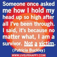 Not A Victim!